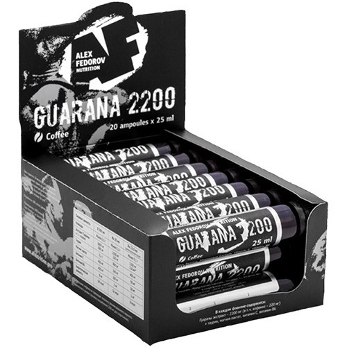 AF Nutrition Guarana 2200 (25 мл x 20 шт.)