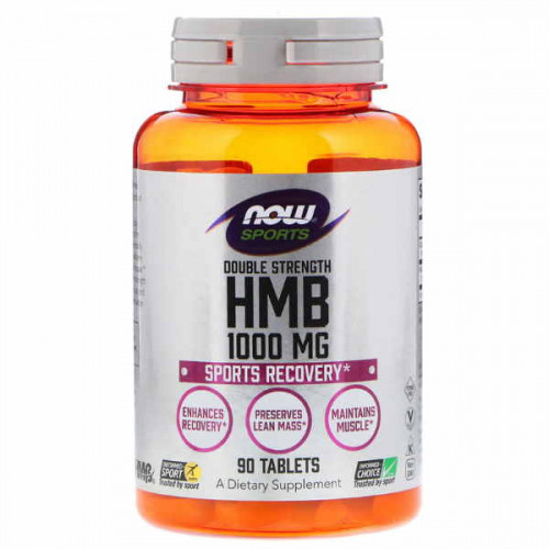 Now Foods HMB Double Strength 1000 мг (90 таб.)