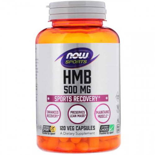 Now Foods HMB Sports Recovery 500 mg (120 капс.)
