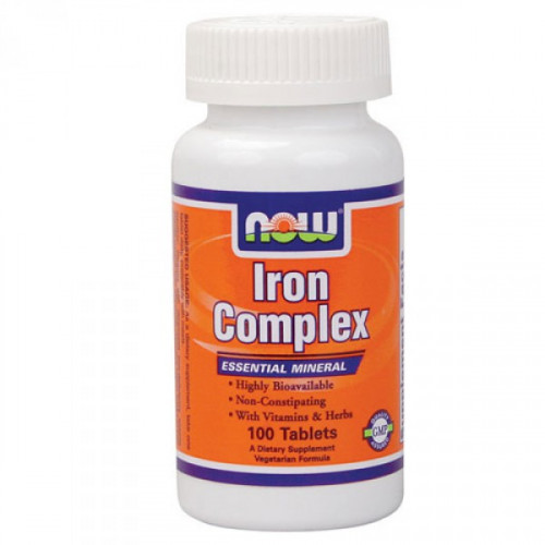 Now Foods Iron Complex (100 таб.)