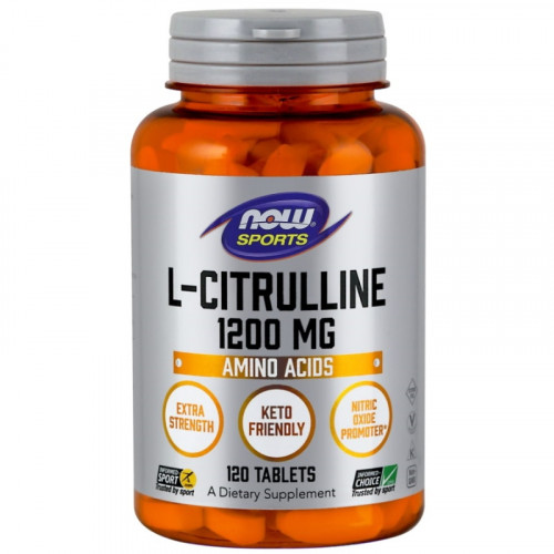 Now Foods L-Citrulline Extra Strength 1200 мг (120 таб.)