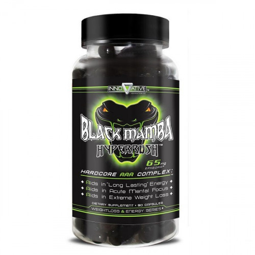 Innovative Laboratories Black Mamba Hyperrush (90 капс.)
