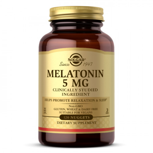 Solgar Melatonin 5 mg (120 Nuggets)