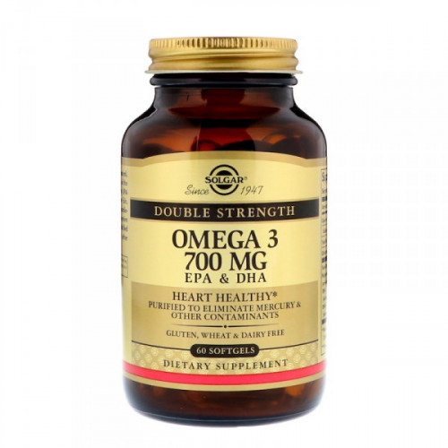 Solgar Omega-3 700 мг EPA DHA Softgels (60 капс.)