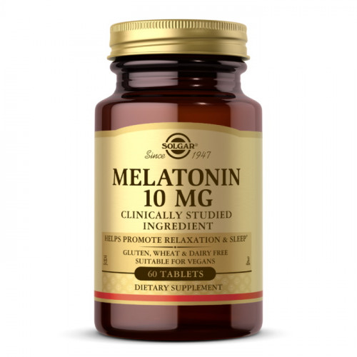 Solgar Melatonin 10 мг (60 таб.)