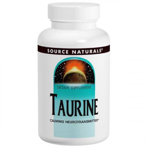 Source Naturals Taurine 1000 мг (120 капс.)