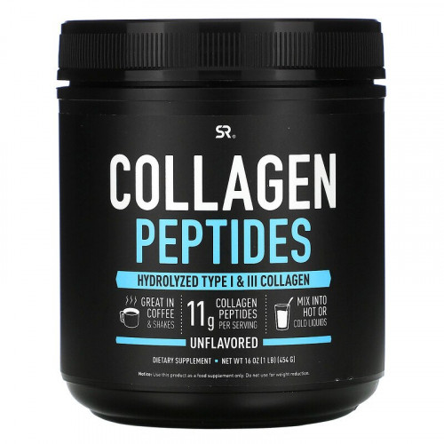 Sports Research Collagen Peptides (454 гр.)