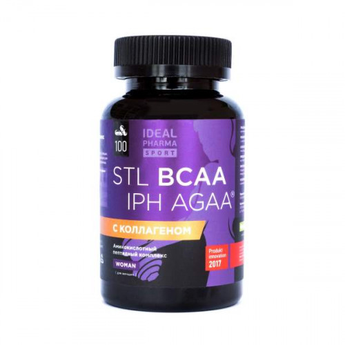 STL BCAA Collagen IPH AGAA для женщин (100 капс.)