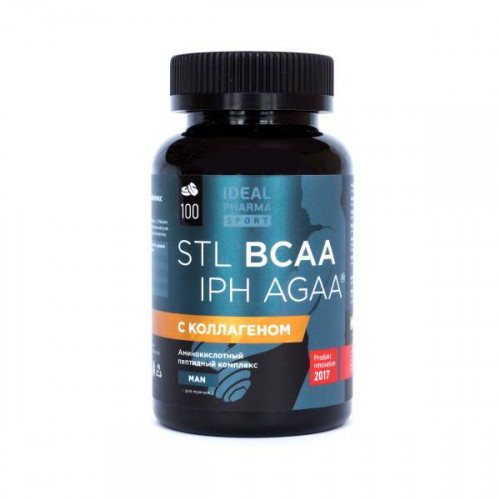 STL BCAA Collagen IPH AGAA для мужчин (100 таб.)