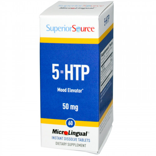 Superior Source 5-HTP 50 mg MicroLingual Instant Dissolve (60 таб.)