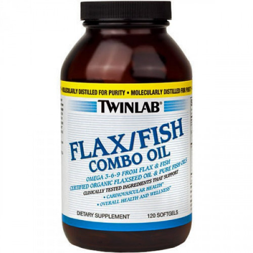 Twinlab Flax/Fish Combo Oil (120 капс.)