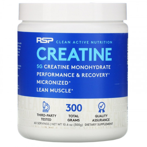 RSP Nutrition Creatine Monohydrate Powder (300 гр.)