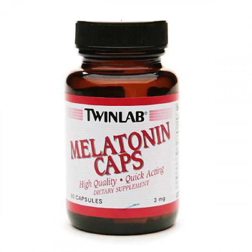 Twinlab Melatonin Caps (60 капс.)