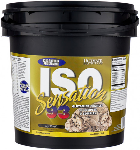 Ultimate Nutrition ISO Sensation 93 (2270 гр.)