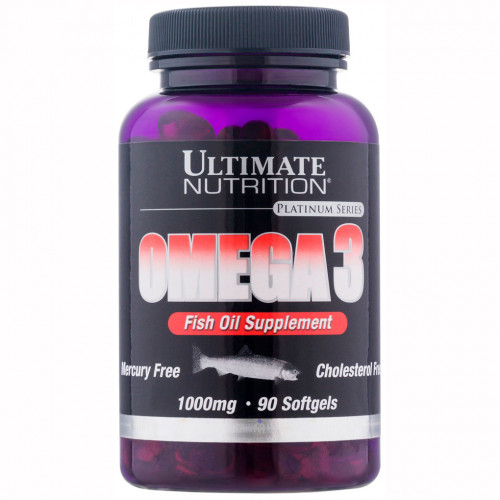 Ultimate Nutrition Omega-3 (90 капс.)