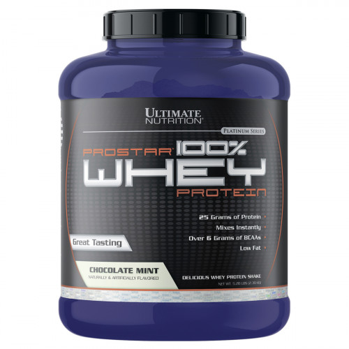 Ultimate Nutrition Prostar 100% Whey (2390 гр.)