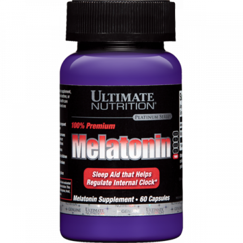 Ultimate Nutrition 100% Premium Melatonin 3 mg (60 капс.)
