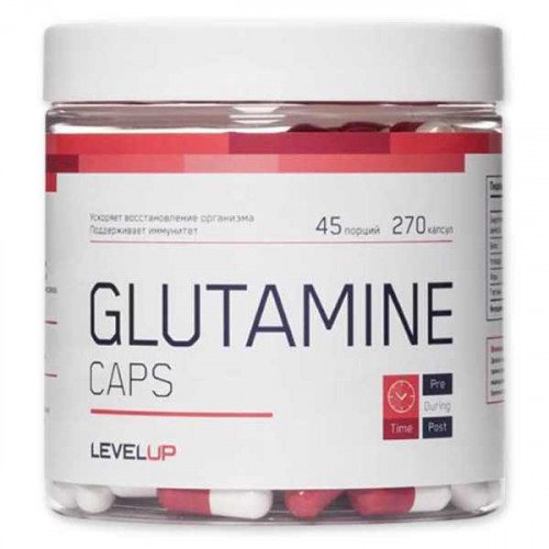 Level Up Glutamine Caps (270 капс.)