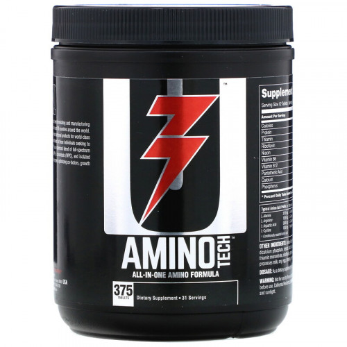 Universal Nutrition Amino Tech (375 таб.)