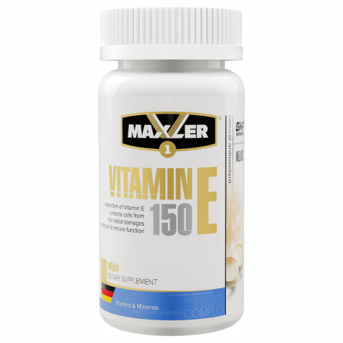 Maxler Vitamin E 150 мг Softgels (60 капс.)