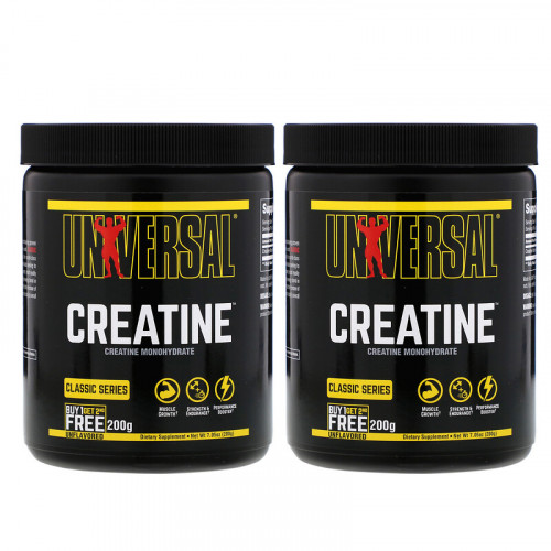 Universal Nutrition Creatine Powder (2 x 200 гр.)