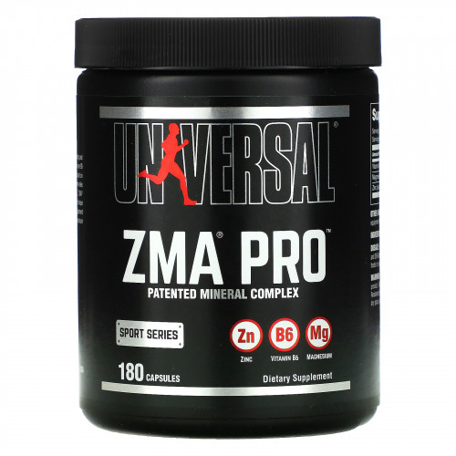 Universal Nutrition ZMA Pro (180 капс.)