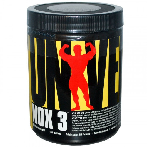Universal Nutrition NOX3 (180 капс.)