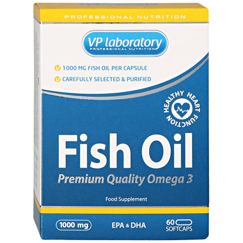 VP Laboratory Fish Oil (60 капс.)