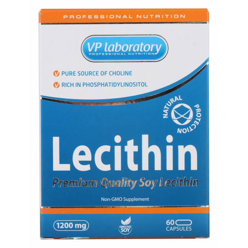 VP Laboratory Lecithin 1200 мг (60 капс.)