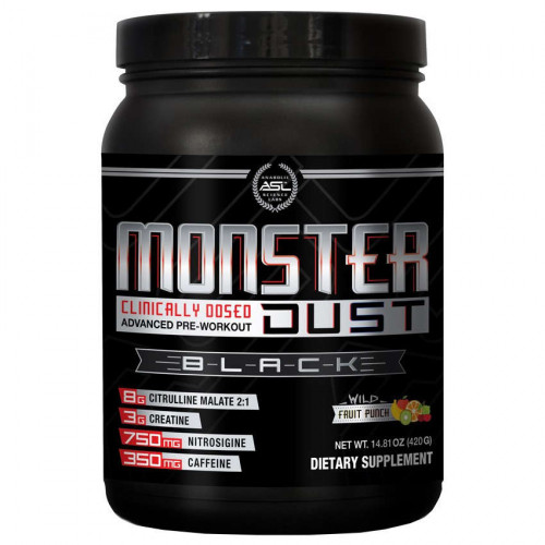 ASL Monster Dust Black (420 гр.)