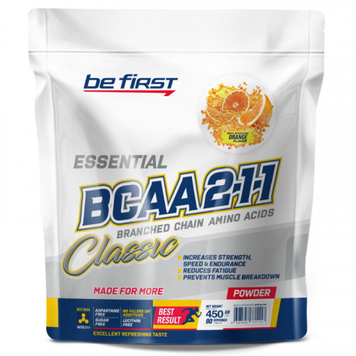 Be First BCAA 2:1:1 Powder Пакет (450 гр.)
