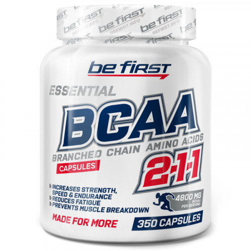 Be First BCAA Capsules (350 капс.)