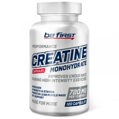 Be First Creatine Monohydrate Capsules (120 капс.)