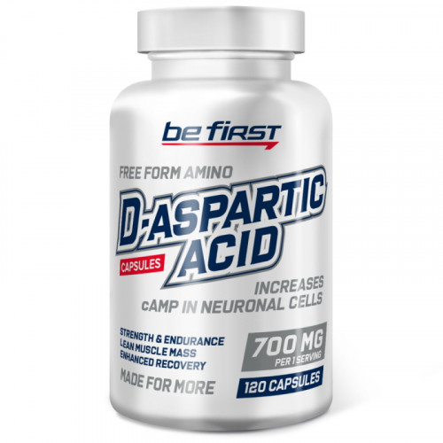 Be First D-aspartic acid capsules (120 капс.)
