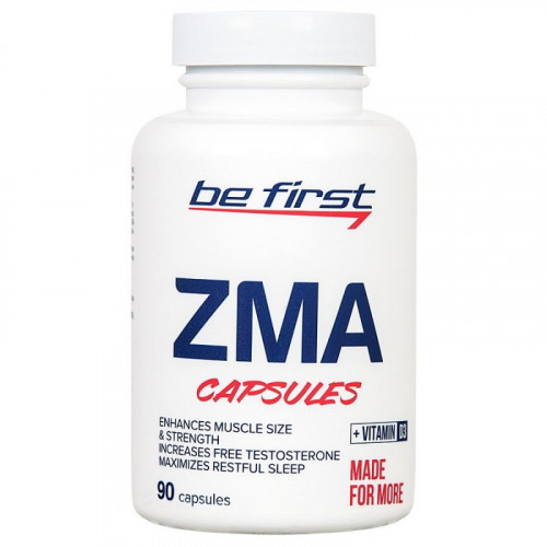 Be First ZMA + Vitamin D3 (90 капс.)
