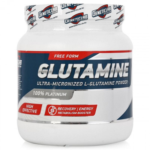 GeneticLab Nutrition Glutamine (500 гр.)