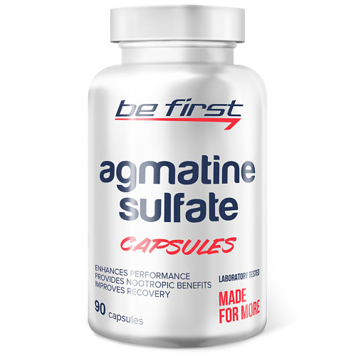 Be First Agmatine Sulfate Capsules (90 капс.)