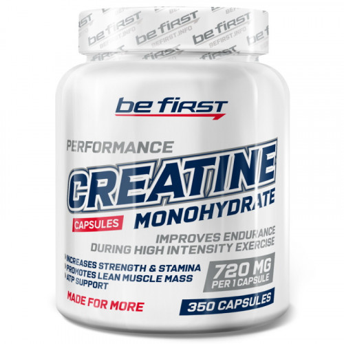 Be First Creatine Monohydrate Capsules (350 капс.)