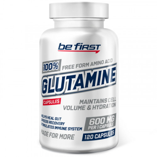 Be First Glutamine Capsules (120 капс.)