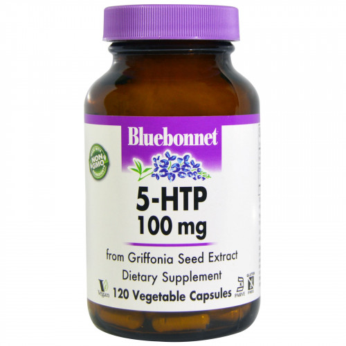 Bluebonnet Nutrition 5-HTP 100 мг Veggie (120 капс.)
