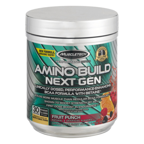MuscleTech Amino Build Next Gen with Betaine (279 гр.)