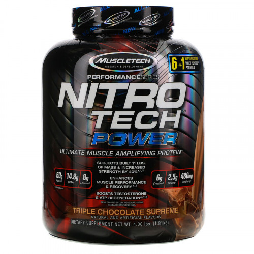 MuscleTech Nitro Tech Power (1810 гр.)