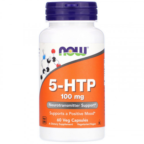 Now Foods 5-HTP 100 мг (60 капс.)