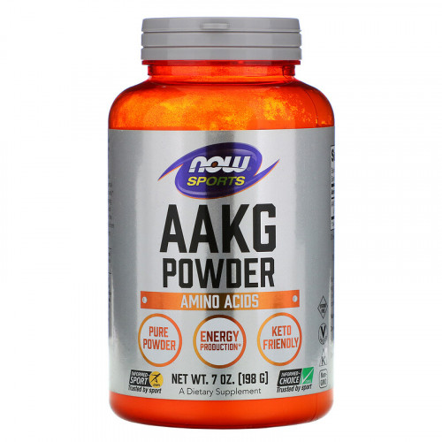 Now Foods AAKG Pure Powder (198 гр.)