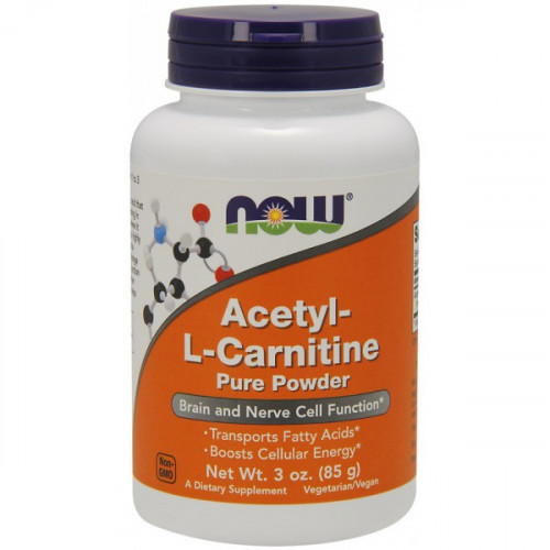 Now Foods Acetyl-L-Carnitine Pure Powder (85 гр.)