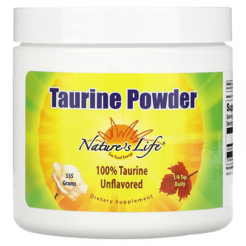 Nature's Life Taurine Powder Unflavored (335 гр.)