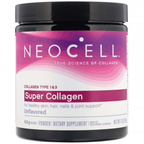 Neocell Super Collagen Type 1 and 3 6000 мг (198 гр.)