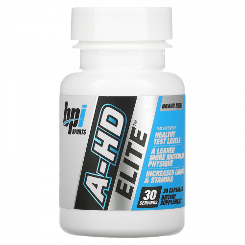 BPI Sports A-HD Elite 500 mg (30 капс.)