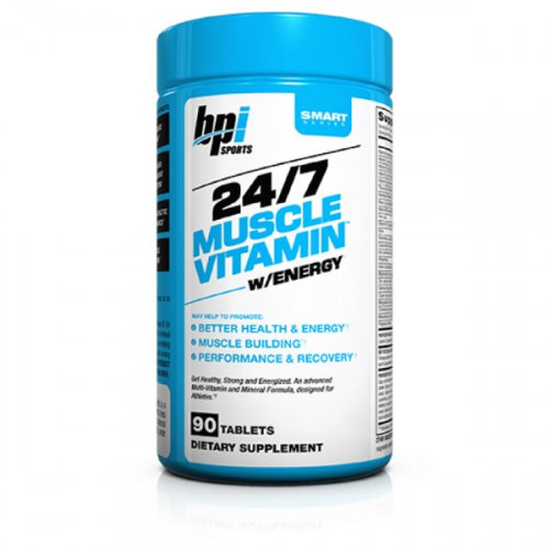 BPI Sports 24/7 Muscle Vitamin Energy (90 таб.)