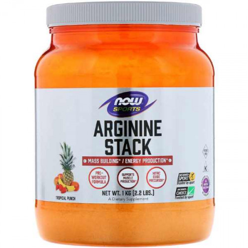 Now Foods Arginine Stack (1000 гр.)